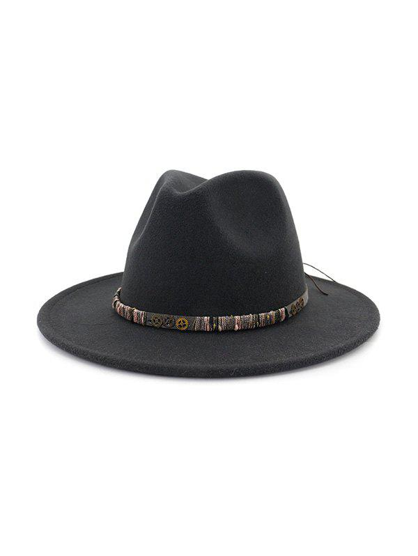 Store Vintage Gear Embellished Jazz Hat