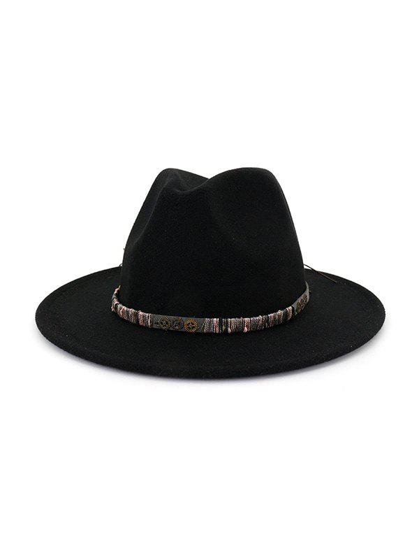 Unique Vintage Gear Embellished Jazz Hat
