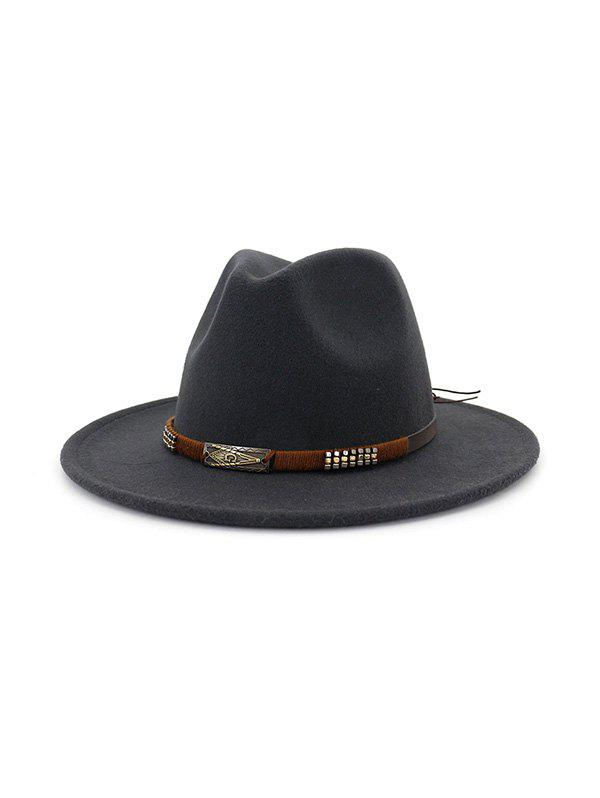 Chic Vintage Engraved Pattern Jazz Hat
