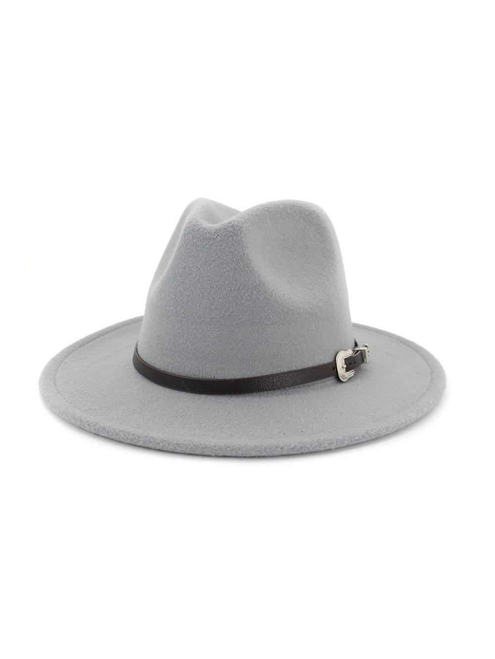 Discount Vintage Embellished Belt Jazz Hat