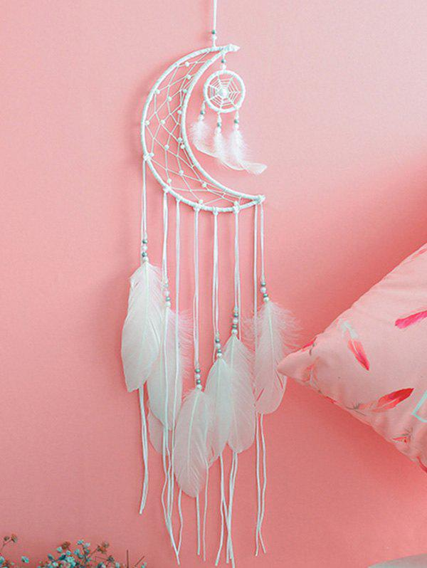 Latest Moon Dream Catcher Feather Hanging Decoration