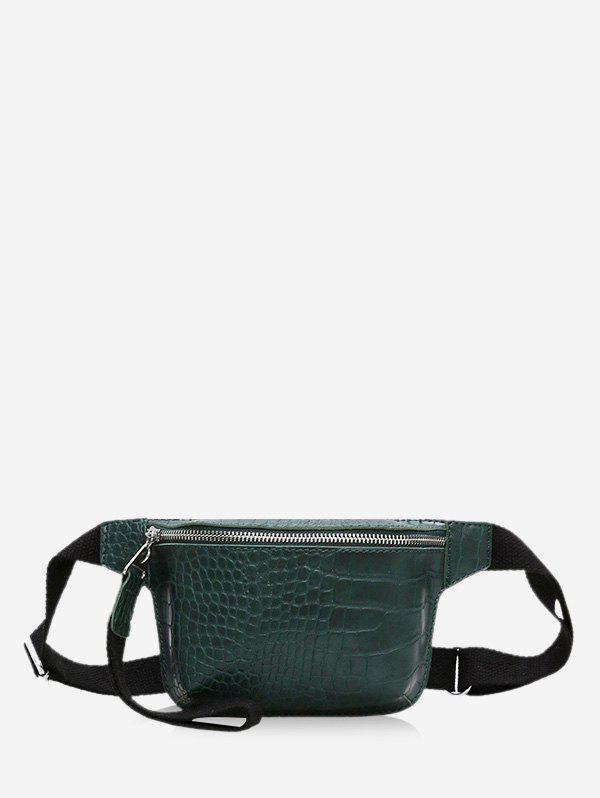 Shops Zipper Crossbody Casual Leather Bag