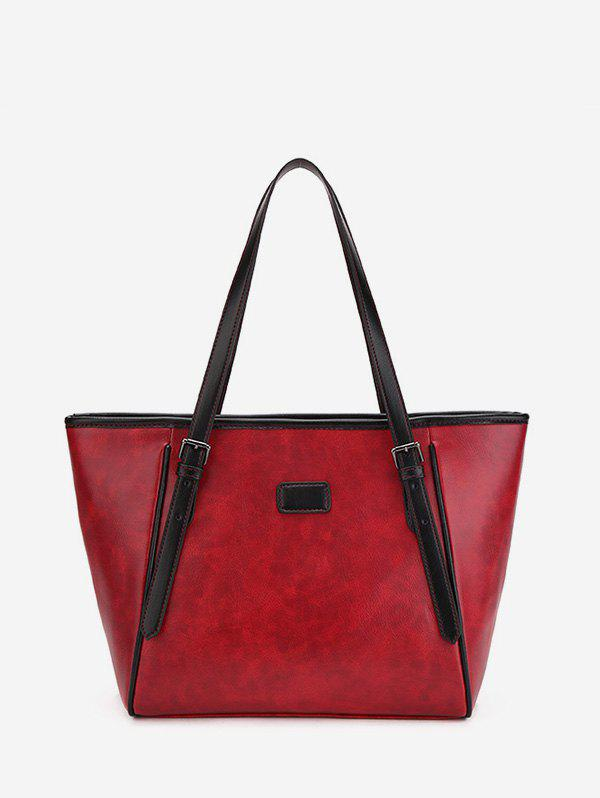 Online Double Buckle Classic Tote Bag