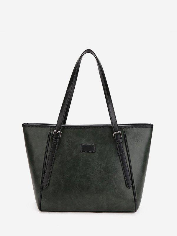 Best Double Buckle Classic Tote Bag