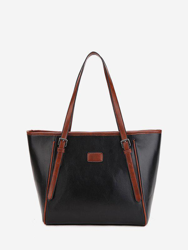 Store Double Buckle Classic Tote Bag