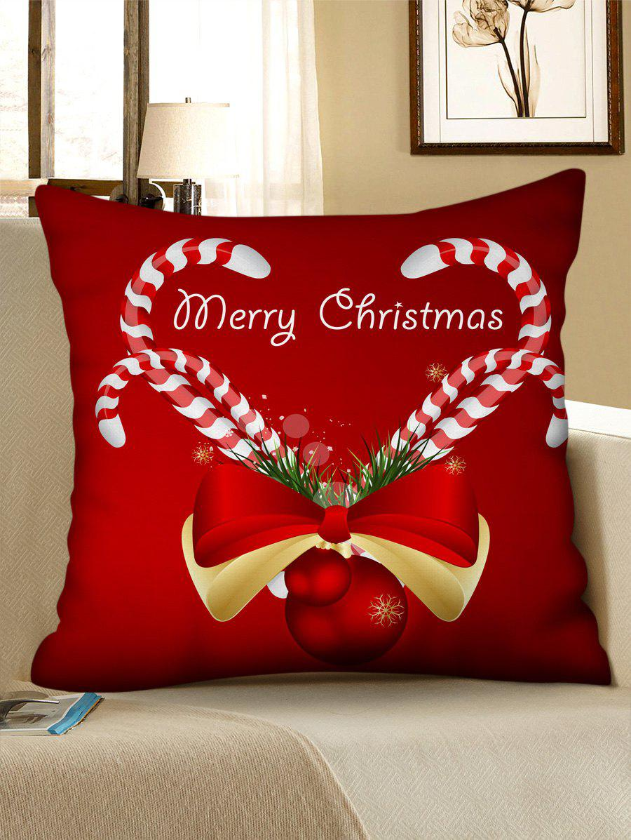 Trendy Christmas Pattern Design Polyester Pillow Cover