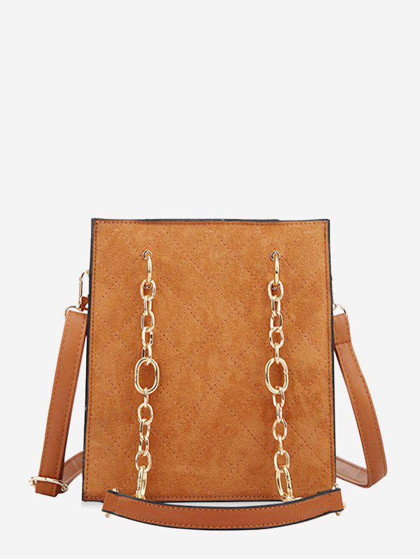 New Rhombic Pattern Square Chain Shoulder Bag