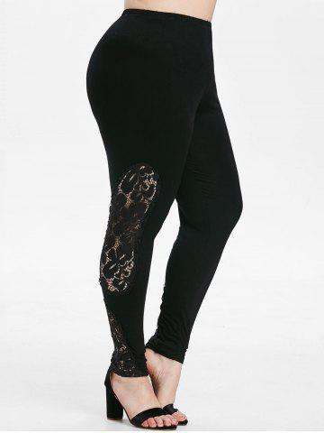 Legging | High | Lace | Plus | Size