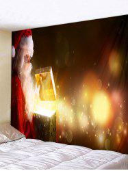 Father Christmas Gift Pattern Tapestry -
