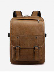 Solid Business Computer Casual Backpack -