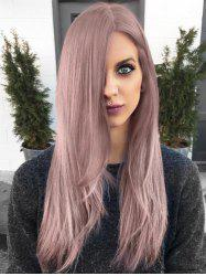 Long Straight Capless Party Synthetic Wig -