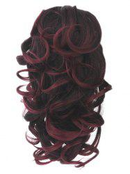 Short Loose Wave Clip Synthetic Hair Piece -