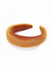 Solid Color Corduroy Hairband -