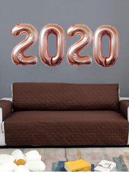 New Year Christmas Decoration 2020 Pattern Foil Aluminum Balloons -