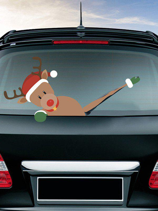 Outfit Christmas Pattern Car Wiper Sticker