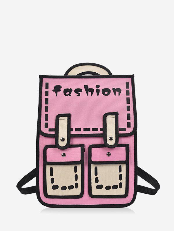 Latest Cartoon Style Chic Backpack