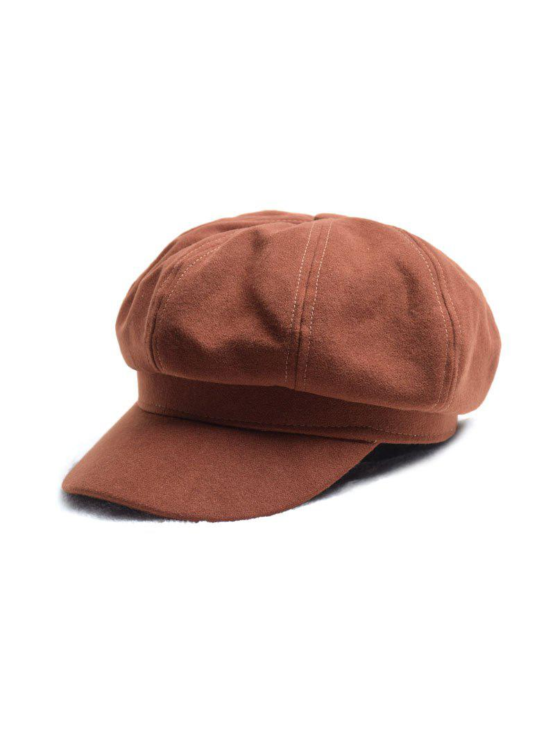 Best Casual Beret Octagonal Newsboy Hat