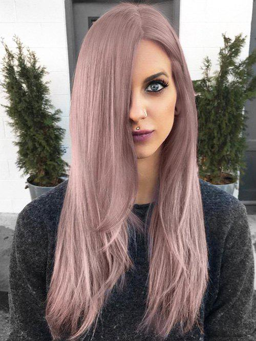 Sale Long Straight Capless Party Synthetic Wig