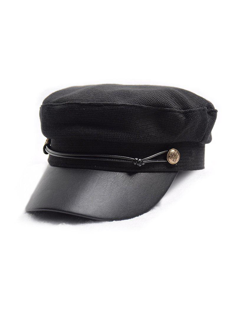 Cheap Flat Jointed Peaked Newsboy Hat