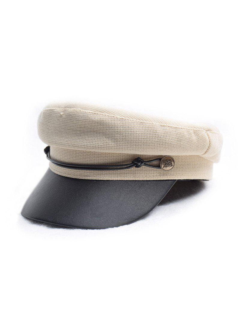 Fancy Flat Jointed Peaked Newsboy Hat