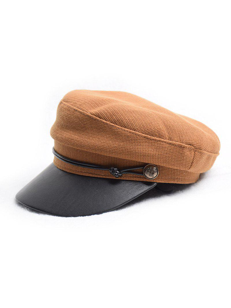 New Flat Jointed Peaked Newsboy Hat