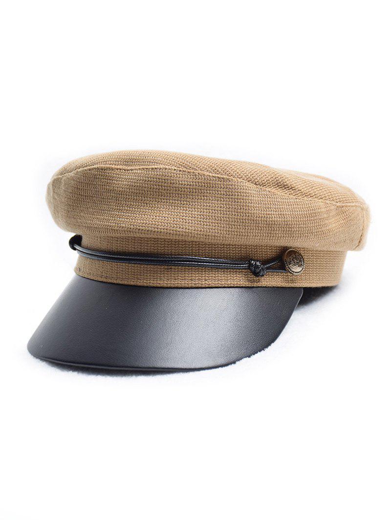 Store Flat Jointed Peaked Newsboy Hat