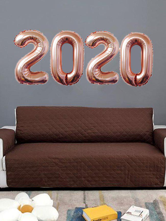 Latest New Year Christmas Decoration 2020 Pattern Foil Aluminum Balloons