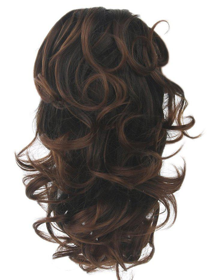 Unique Short Loose Wave Clip Synthetic Hair Piece