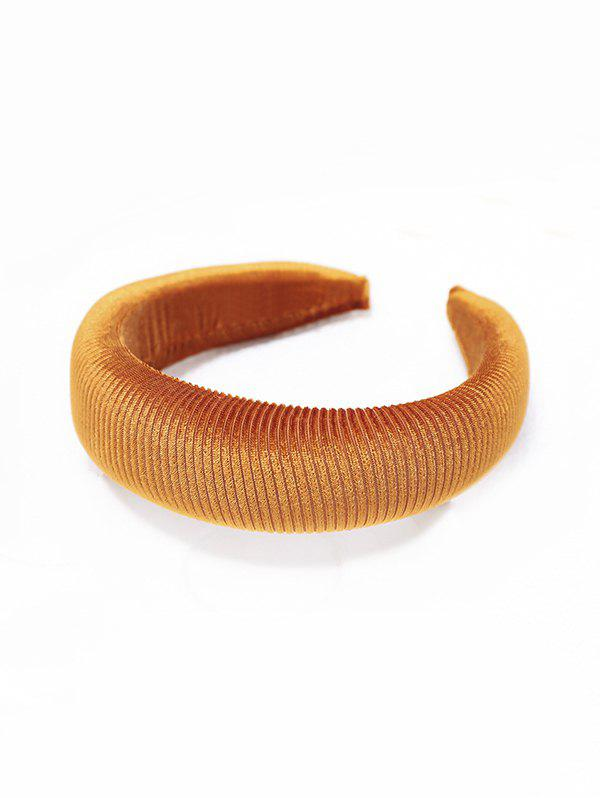 Latest Solid Color Corduroy Hairband