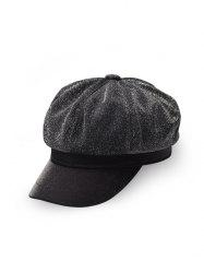 British Style Solid Color Beret Hat -