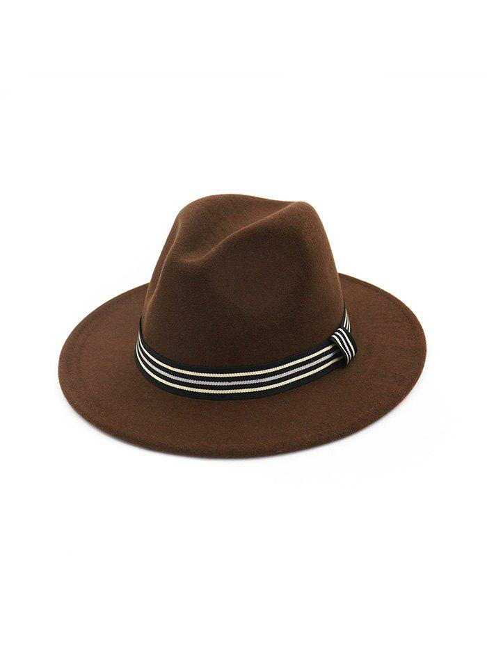 Buy Striped Embellished Jazz Hat