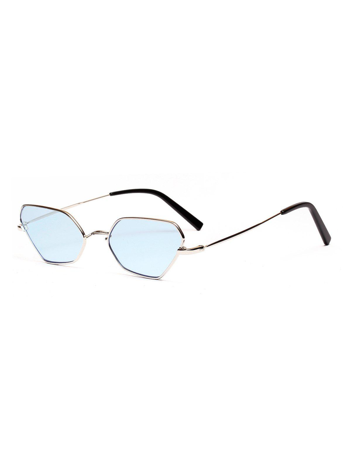 Best Metal Irregular Small Sunglasses