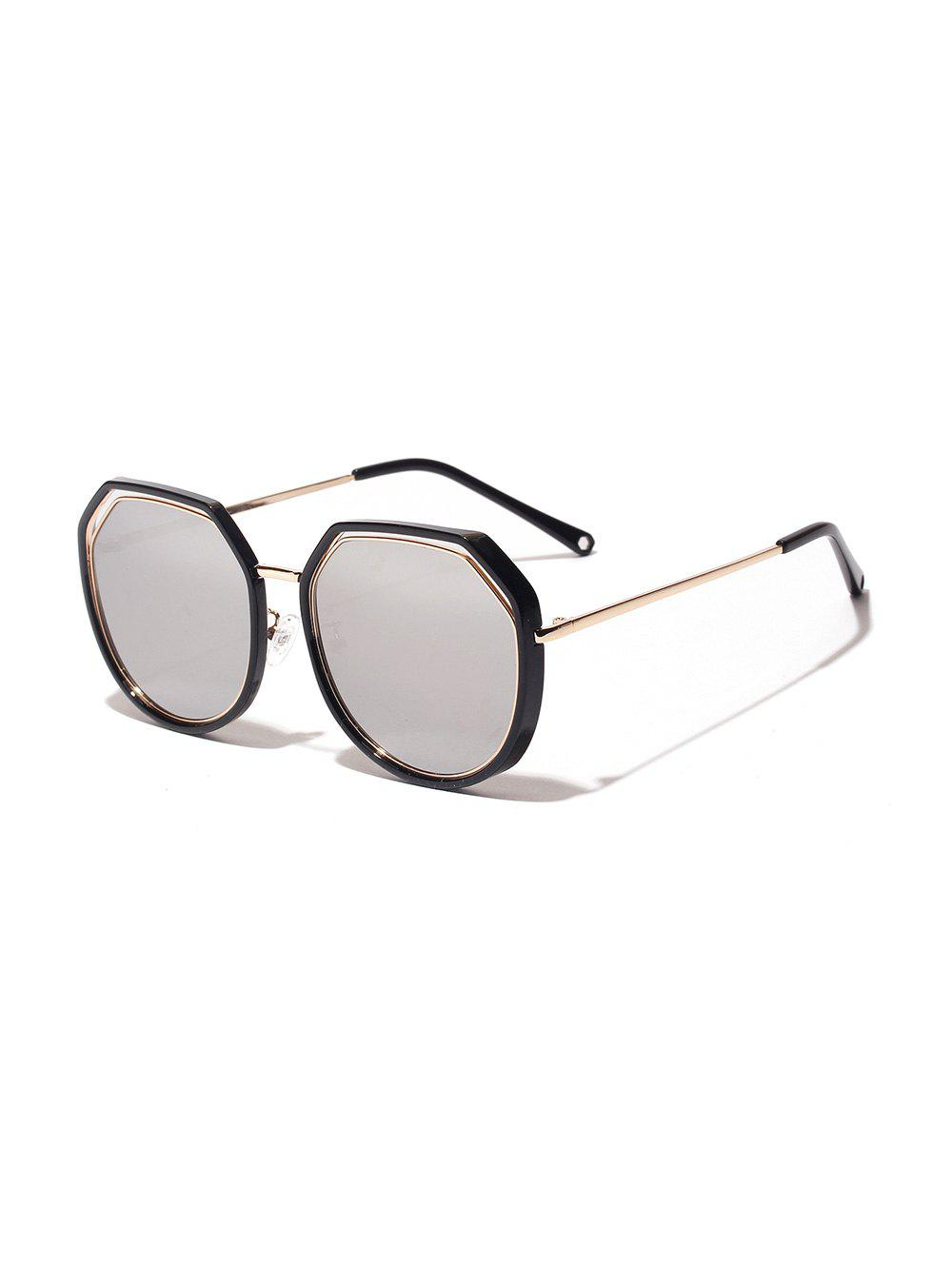 Unique Irregular Double Frame Sunglasses