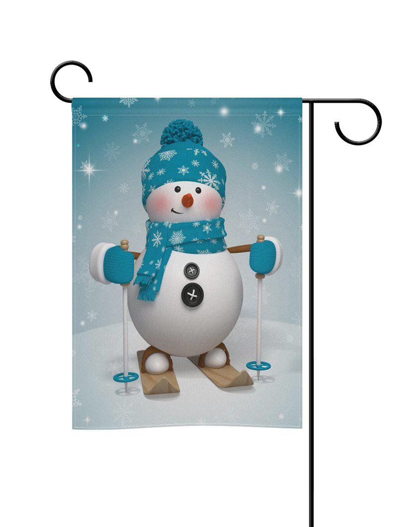 Hot Christmas Snowman Double Side Decoration Flag