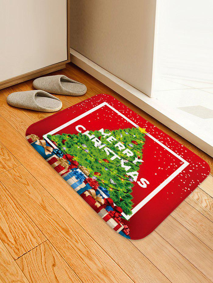 Outfit Merry Christmas Tree Gift Floor Rug