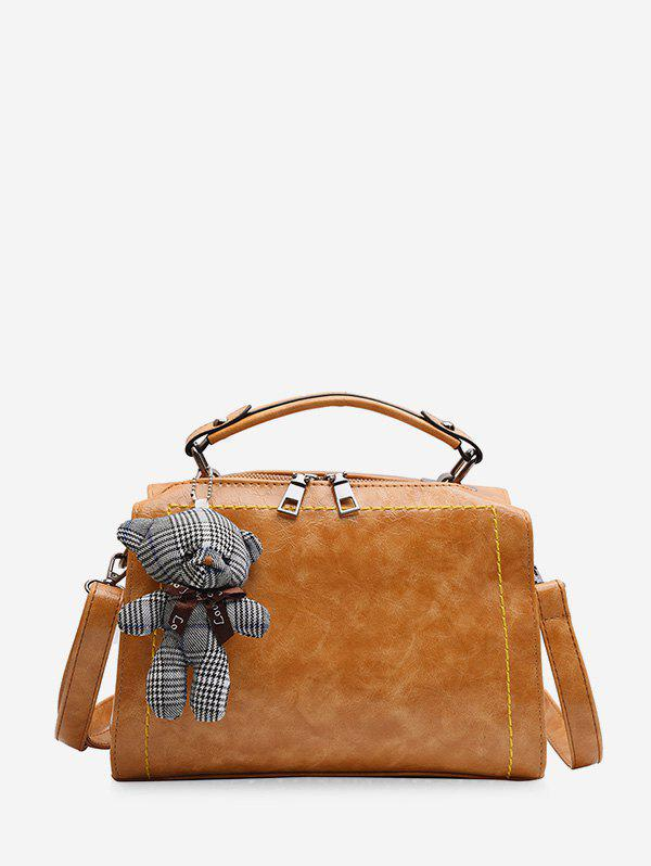 Outfit Toy Hangings Decorated Crossbody Bag