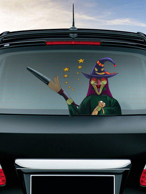 Online Halloween Witch Skull Pumpkin Pattern Car Stickers Wall Art Stickers
