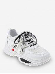 Outdoor Breathable Mesh Dad Sneakers -