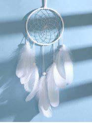Handmade Beaded Feather LED Light Dream Catcher -