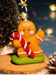Christmas Santa Claus Elk Snowman Shape Decorative Candle -