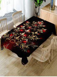 Christmas Design Waterproof Table Cloth -