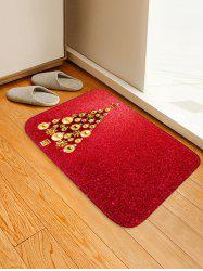 Christmas Tree Pattern Floor Rug -