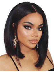 Medium Center Part Straight Synthetic Wig -