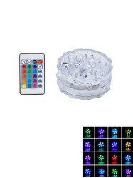 Waterproof Decorative Colorful LED Light with Remote Control -