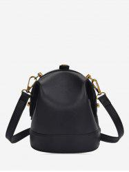 Solid Small Crossbody Shoulder Bag -