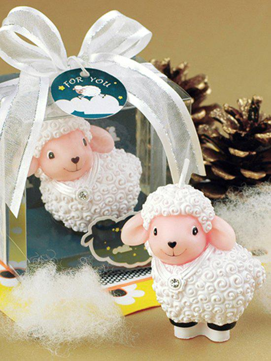 Unique Cartoon Sheep Shape Decorative Candle
