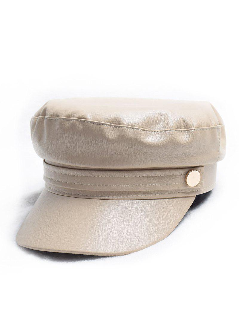Hot Winter PU Painter Casual Cadet Cap
