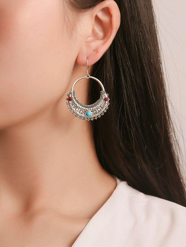 Shops Ethnic Engraved Hollow Out Drop Earrings