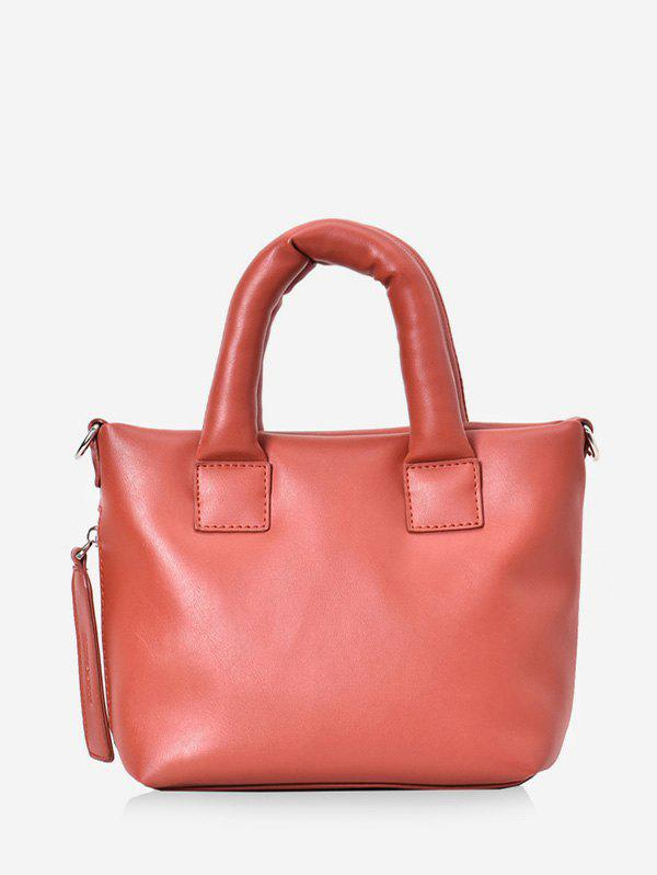 New Minimalist PU Leather Mini Tote Bag