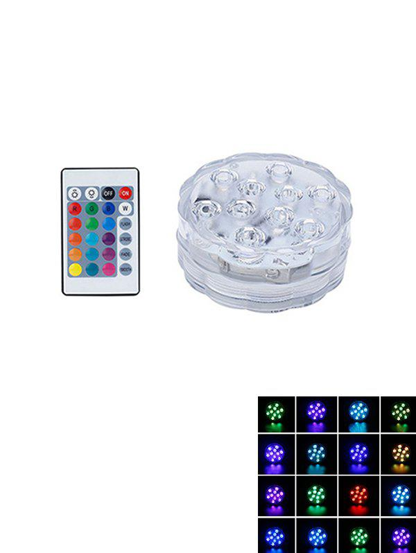 Fancy Waterproof Decorative Colorful LED Light with Remote Control